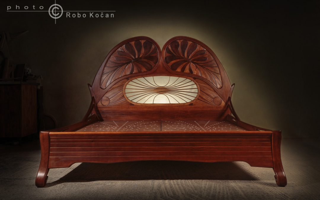 SECESIA – postele KOLAČ – produktová fotografia